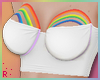 Rach*Rainbow Top - White