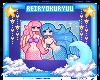 Mermaid Friends Badge