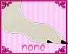 [NoNo] White Roo Feetsie