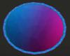 Neon Round rug 3