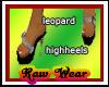 |RW|LEOPARD HIGH HEELS