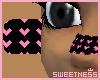 [X] P/B Mini Hearts-Nose
