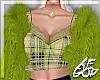 "Ⱥ"" Green Lace Fur"