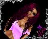 Rag Nymph~magenta pink