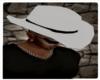 Cowboy hat white/black