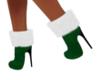 Cute Green/Xmas Boots
