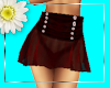 Sexy red flirty skirt