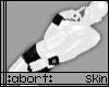 :abort: White PVC Skin m