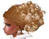 Raniya Honey Blonde Updo