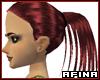Shimmer Red Bangless