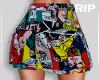 R. Couple pop skirt