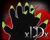 xIDx Tiny Lime Claws M