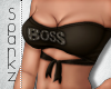 !S! Boss AF Top Busty