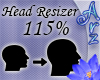 [Arz]115% Head Resizer