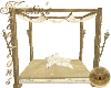 Gold Ivory Lounge Bed