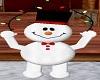 snowman w/ lights