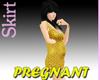 Gold Pregnant Minidress
