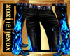 [L] Blue Flame 2 Pants M
