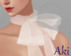 #A Add on Bow Scarf #WH