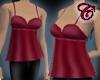 Crimson Angel Top