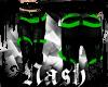  N  Green Hip-Hop Pants