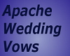 Apache Wedding Vow