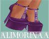 *A* Purple Cute Heels