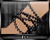 E> Black Pearl Bracelet