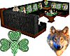 Booth Irish Celtic Wolf