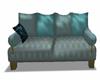 Comfy Blue Sofa