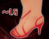 ~LG~ RED STILETTOS