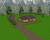 Log Home w/pool & Garage