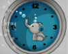 Elephant Baby Clock