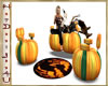 ~H~Wicked Pumpkin Chairs