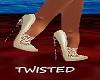 Lace Me Shoes White