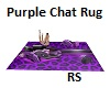 Purple Chat Rug