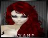 Blood Red Morgana Hair