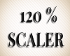 Avatar 120 % Scaler