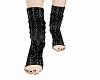 black toeless socks