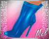 M~ Blue PVC Boots