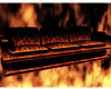 Fire in Hell couch