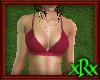Bikini Top Burgundy