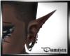 Pvc Elf Ears pierced BlC
