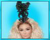Black Feather Bonnet