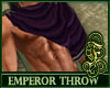 Emperor Throw Purple
