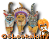 Native American Kitties