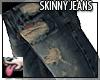 Skinny Ripped Pants