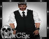 CS Mens Vest - Black