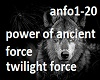 power of ancient force