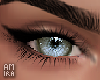 Eyes green sky